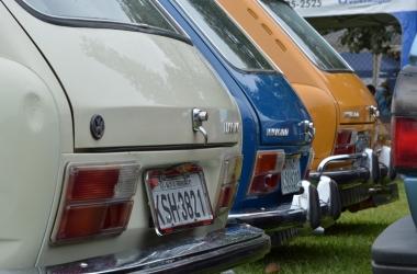 Carros de coleção em exposição (Fotos: Henrique Pinheiro)