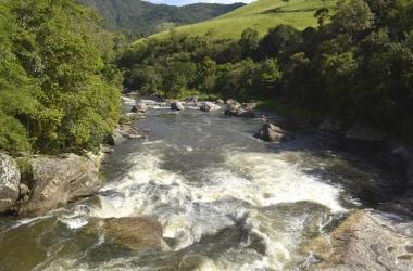O Encontro dos Rios, uma das belezas naturais de Friburgo (Arquivo AVS)