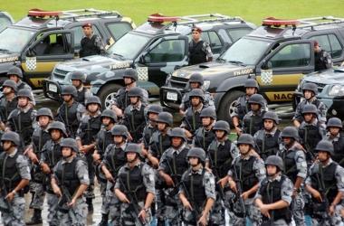 Força Nacional de Segurança (Foto: Fabio Pozzebom/ABr)