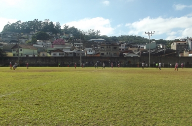 Campo do Serrano, em Olaria, onde acontecerão os jogos das quartas de final