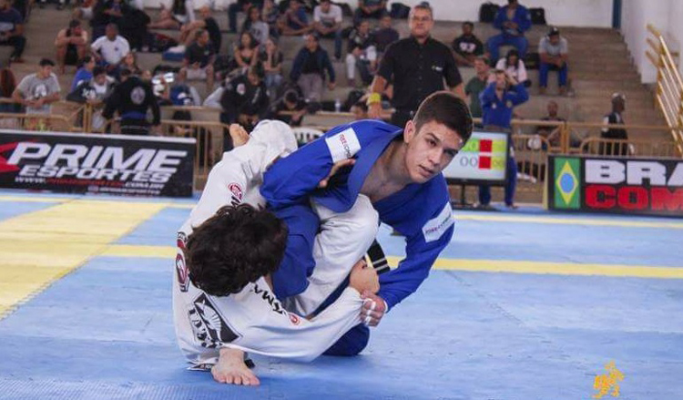 Revelação do jiu-jitsu, Kayque Xavier conquistou 22 medalhas em 2017