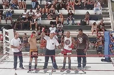 O momento em que o jovem friburguense foi declarado bicampeão da Taça Guanabara