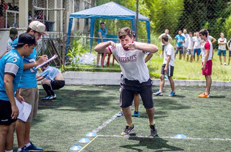 Esforço físico foi uma das provas realizadas durante a seletiva (Fotos: Igor Raposo)