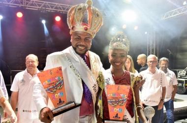 Felippe e Jhenifer são sagrados rei e rainha do carnaval friburguense de 2019 (Fotos: Daniel Marcus / PMNF)