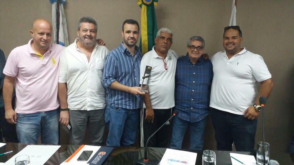 Reunião na Federação com o Presidente Rubens Lopes: sugestões e apresentação do calendário 2018