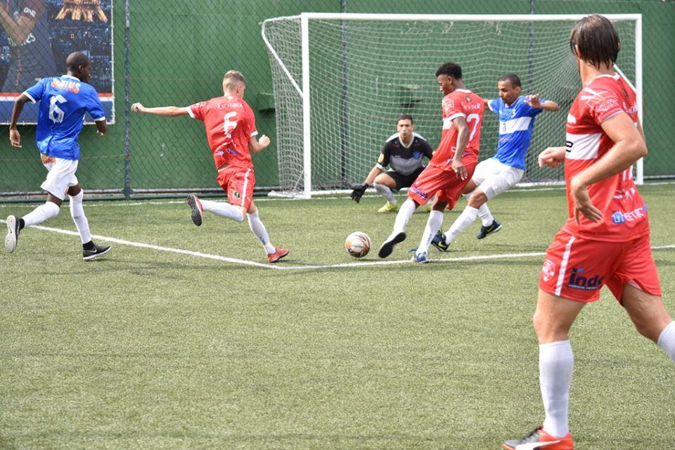 Equipe de Nova Friburgo fez ótimo jogo, e estreou com goleada na Copa Suderj