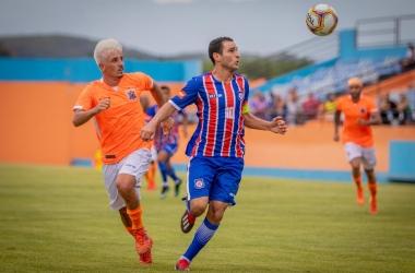 Talento de Jorge Luiz é uma das armas do Friburguense contra a Portuguesa