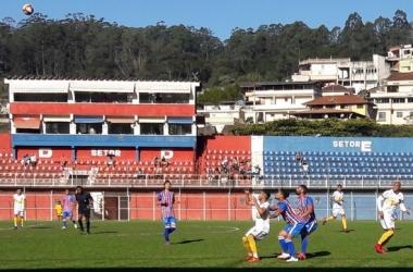 Frizão e Sampaio Correa fizeram jogo bastante disputado em Nova Friburgo