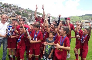Na categoria sub-11, Guerreirinhos São Pedro festejou o título em Conselheiro Paulino
