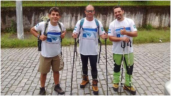 Após preparação forte em Nova Friburgo, o grupo parte para a expedição na Patagônia
