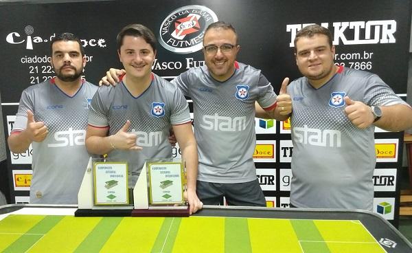 AFFM Friburguense volta a conquistar o campeonato Estadual de Futebol de Mesa