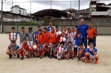 A escolinha de futebol IFV