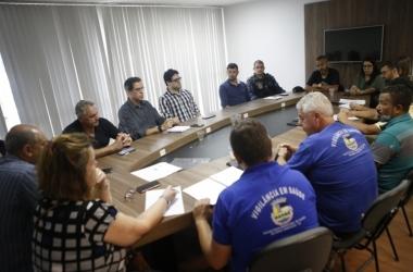 O encontro reuniu representantes de diversos setores (Foto: Joao Luccas Oliveira/PMNF)
