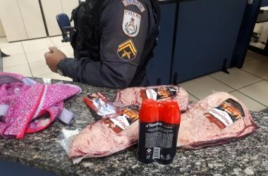 Mulher é presa em flagrante por furto a supermercado em Olaria