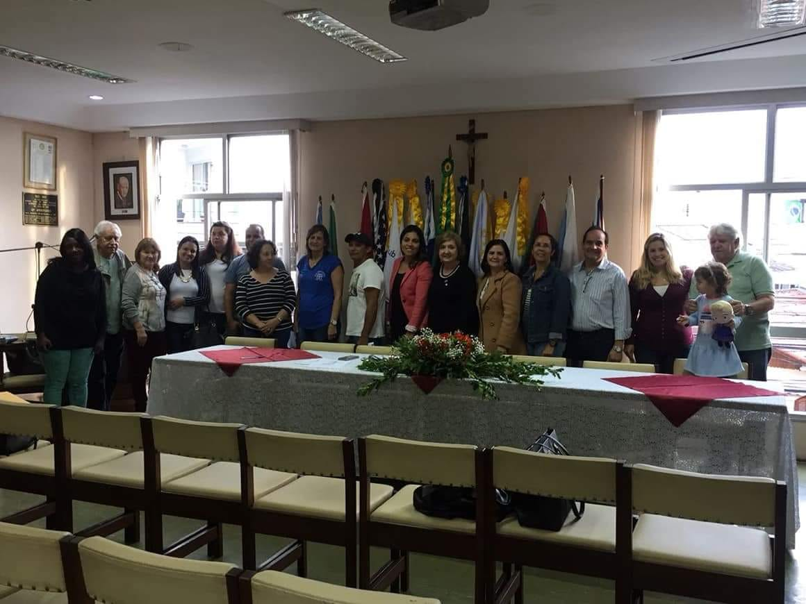 A Casa da Amizade recepcionou essa semana os representantes das entidades beneficiadas