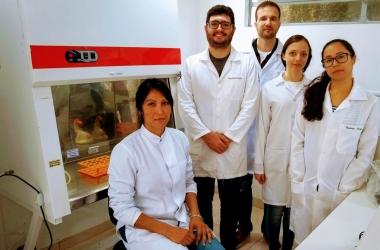 A equipe de pesquisadores da UFF Friburgo (Divulgação)