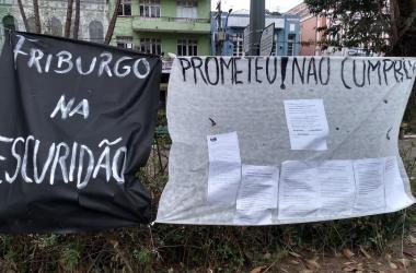 Os cartazes levados pelos manifestantes (Fotos: Guilherme Alt)