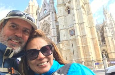 Lúcia Alves e o significado de Santiago de Compostela