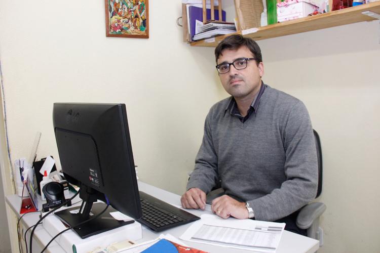 O secretário Angelo Jaquel (Arquivo AVS)