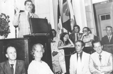 Laura Milheiro de Freitas, primeira vereadora mulher do Estado do Rio (Arquivo AVS)