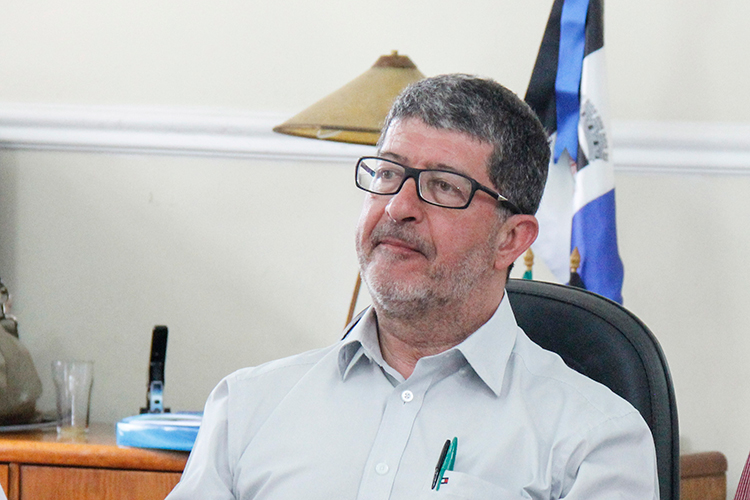 Marcelo Braune assume a prefeitura interinamente nesta sexta