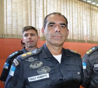 O tenente-coronel Paulo Roberto das Neves Júnior (Arquivo AVS)