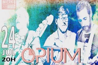 A banda Opium é uma das atrações musicais (Divulgação)