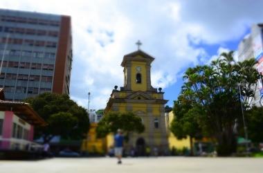 A Igreja de São João Batista (Arquivo AVS)
