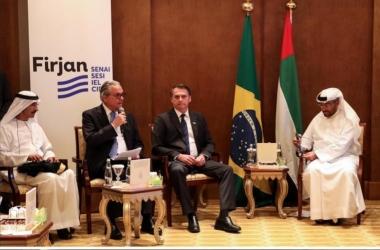 No encontro, Eduardo Eugenio, presidente da Firjan, representou os empresários brasileiros  (Divulgação)