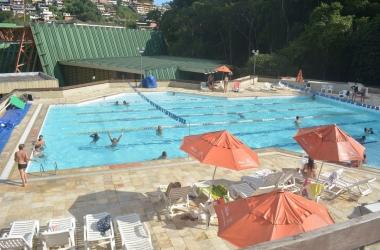 A piscina do Sesi (Arquivo AVS)