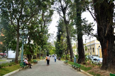 A Praça Getúlio Vargas (Arquivo AVS)