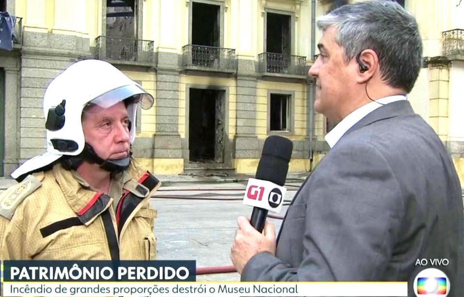 Robadey dá entrevista ao Bom Dia da Rede Globo (reprodução da TV)