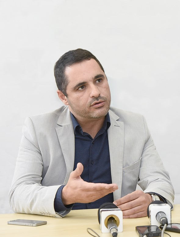 O agora ex-procurador-geral do município, Savio Rodrigues (Arquivo AVS)