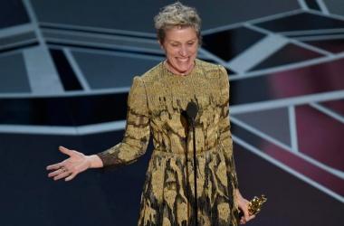 Frances McDormand no Oscar 2018 (Foto: Thestar.com)