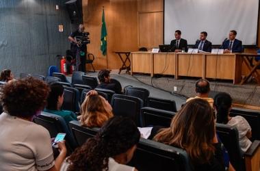 A apresentação do decreto no auditório Nelson Carneiro, na Alerj   (Foto: Octacílio Barbosa/Alerj)