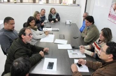 A reunião em que foi tratado o assunto (Divulgação PMNF)