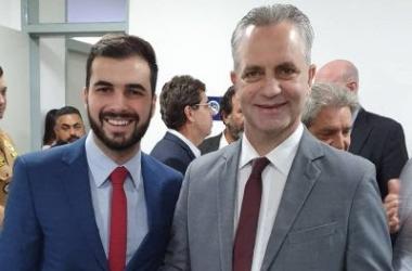 Marins  e o prefeito de Maringá, Ulisses Maia (Divulgação)