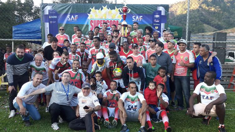 Festa do Unidos do Alto: equipe supera o São Lourenço e leva taça inédita para o Alto de Olaria