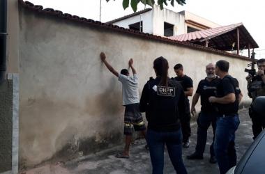 A operação Cronos II no Espírito Santo (Foto: G1)
