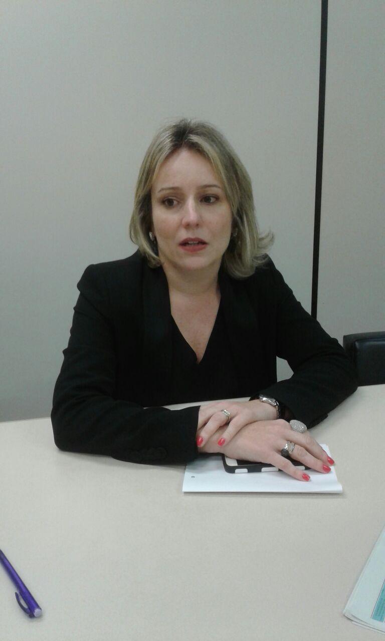 A juíza de Direito Adriana Valentim