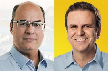 Wizel x Paes: ex-juiz e ex-prefeito se enfrentam no segundo turno para o governo do Rio (Foto: vejario)