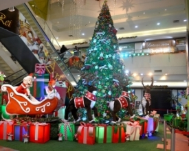 Shoppings de Friburgo entram no clima de Natal